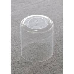 CAPSULA TRASPARENTE IN PVC D. 44X50 PEZZI 100